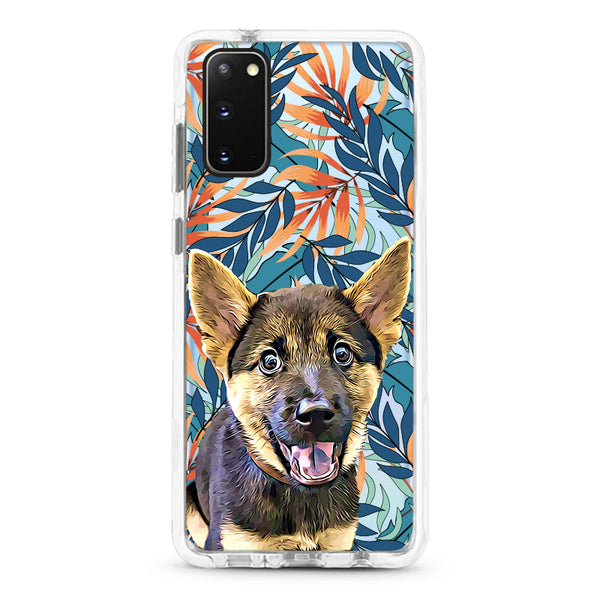 Samsung Ultra-Aseismic Case - Fall Feels Tropical