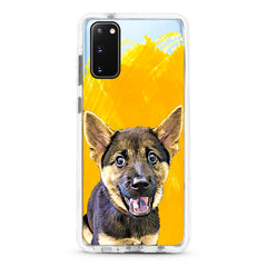 Samsung Ultra-Aseismic Case - Hand Painted Yellow