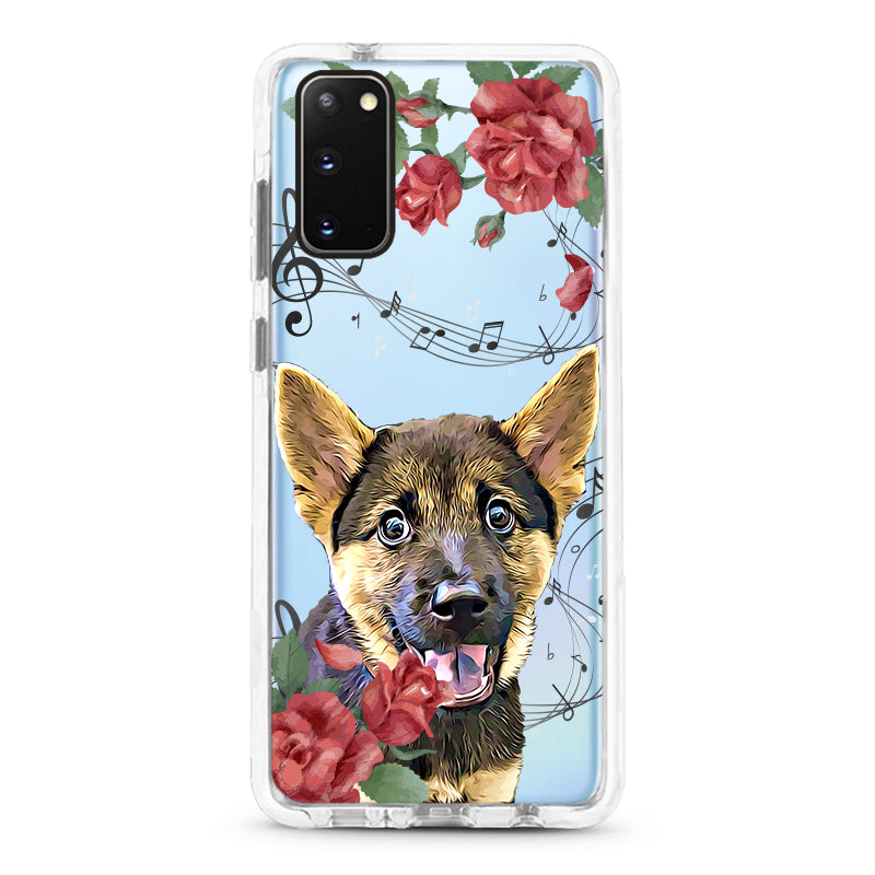 Samsung Ultra-Aseismic Case - Musical Floral