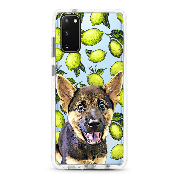 Samsung Ultra-Aseismic Case - Lime