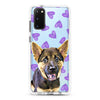 Samsung Ultra-Aseismic Case - Purple Hearts