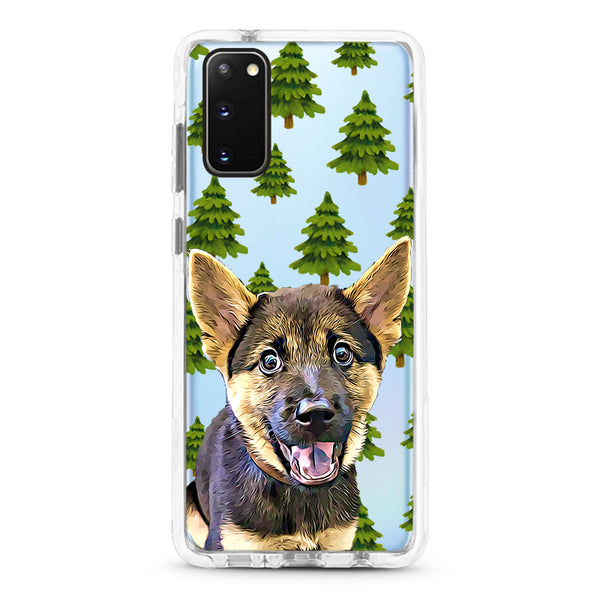 Samsung Ultra-Aseismic Case - Pine Trees