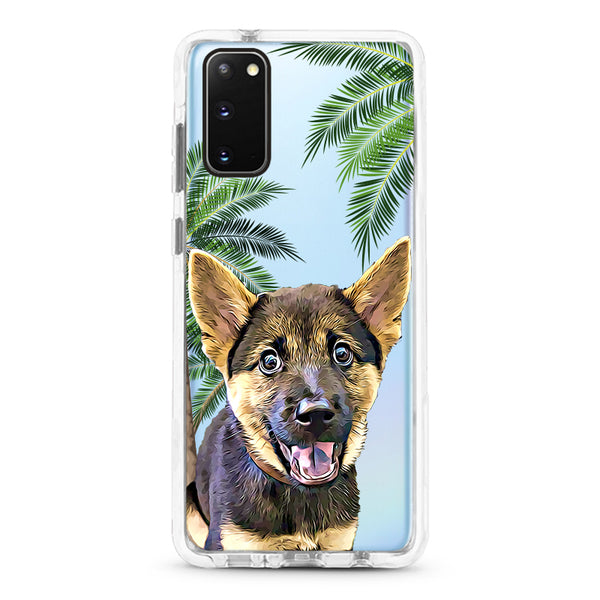 Samsung Ultra-Aseismic Case - Palm Trees