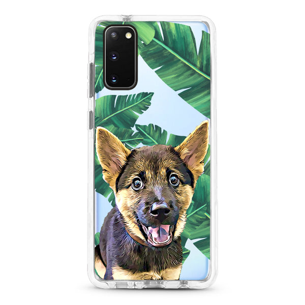 Samsung Ultra-Aseismic Case - Big Leaves