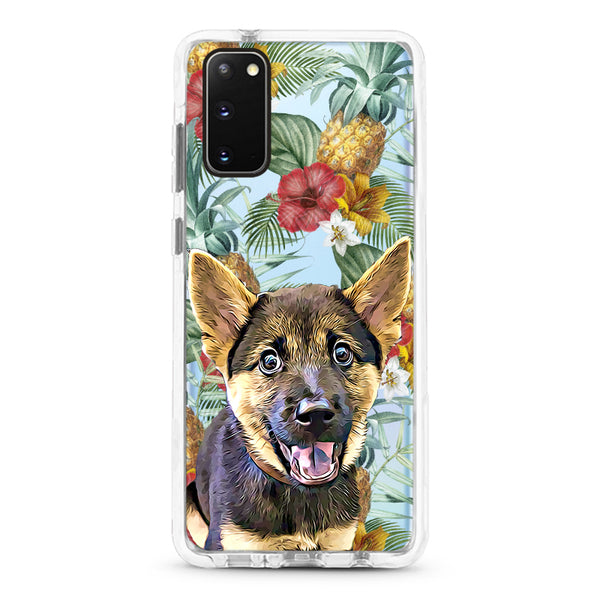 Samsung Ultra-Aseismic Case -  Pineapple Tropical 3