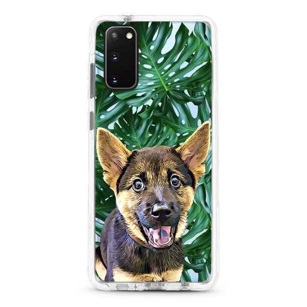 Samsung Ultra-Aseismic Case - Big Leaves 2