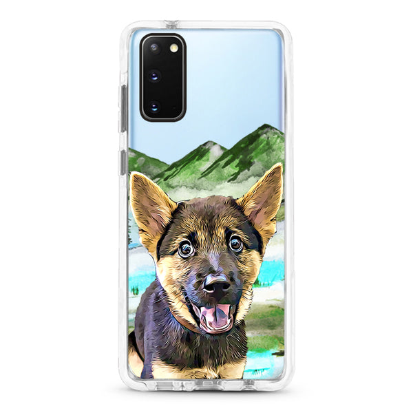 Samsung Ultra-Aseismic Case - Beautiful Nature View