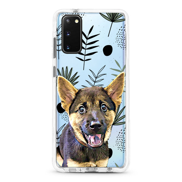 Samsung Ultra-Aseismic Case -  Leaves Pattern Design 3
