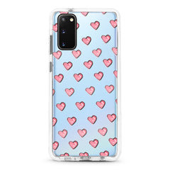 Samsung Ultra-Aseismic Case - Pink Hearts