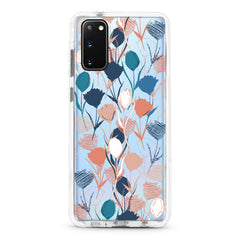 Samsung Ultra-Aseismic Case - Hand Painted Flowers