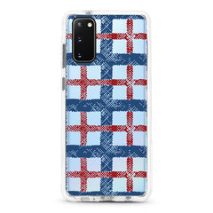 Samsung Ultra-Aseismic Case - England Checked