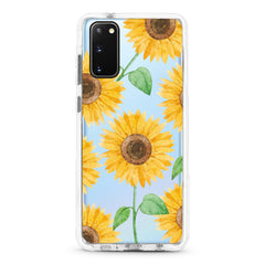 Samsung Ultra-Aseismic Case - HAPPY YELLOW SUNFLOWERS