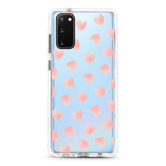 Samsung Ultra-Aseismic Case - Light Pink Heart