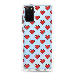 Samsung Ultra-Aseismic Case - Pixel Red Hearts
