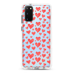 Samsung Ultra-Aseismic Case - Red Hearts