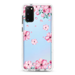 Samsung Ultra-Aseismic Case - GIrly Pink Flowers