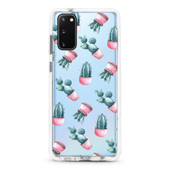 Samsung Ultra-Aseismic Case - Cactus in Pink Pot