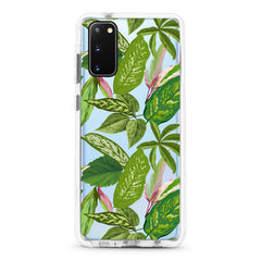 Samsung Ultra-Aseismic Case - Summer Green Leaves
