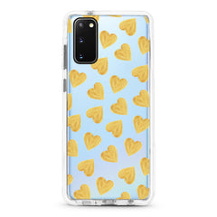 Samsung Ultra-Aseismic Case - Gold Hearts