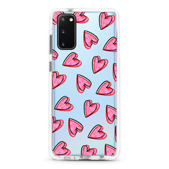 Samsung Ultra-Aseismic Case - Romantic Red Hearts 2