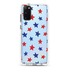 Samsung Ultra-Aseismic Case - Red Blue Star