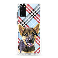 Samsung Ultra-Aseismic Case - Checkered Pattern