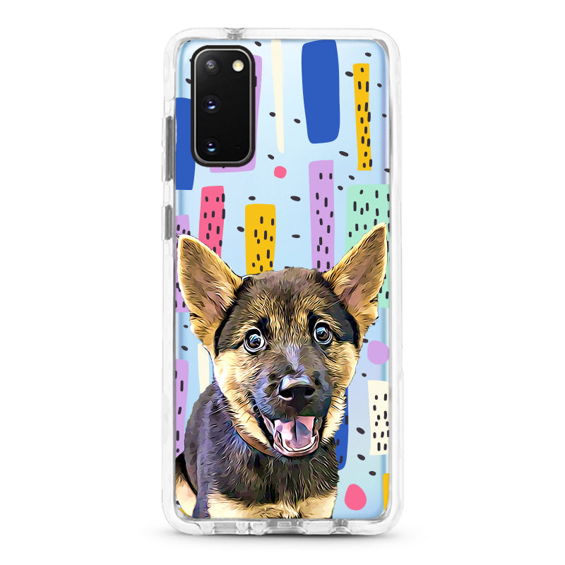 Samsung Ultra-Aseismic Case - Modern Painting 2