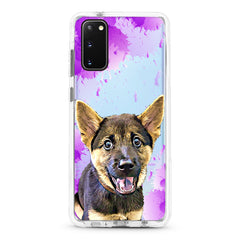 Samsung Ultra-Aseismic Case - Purple splash