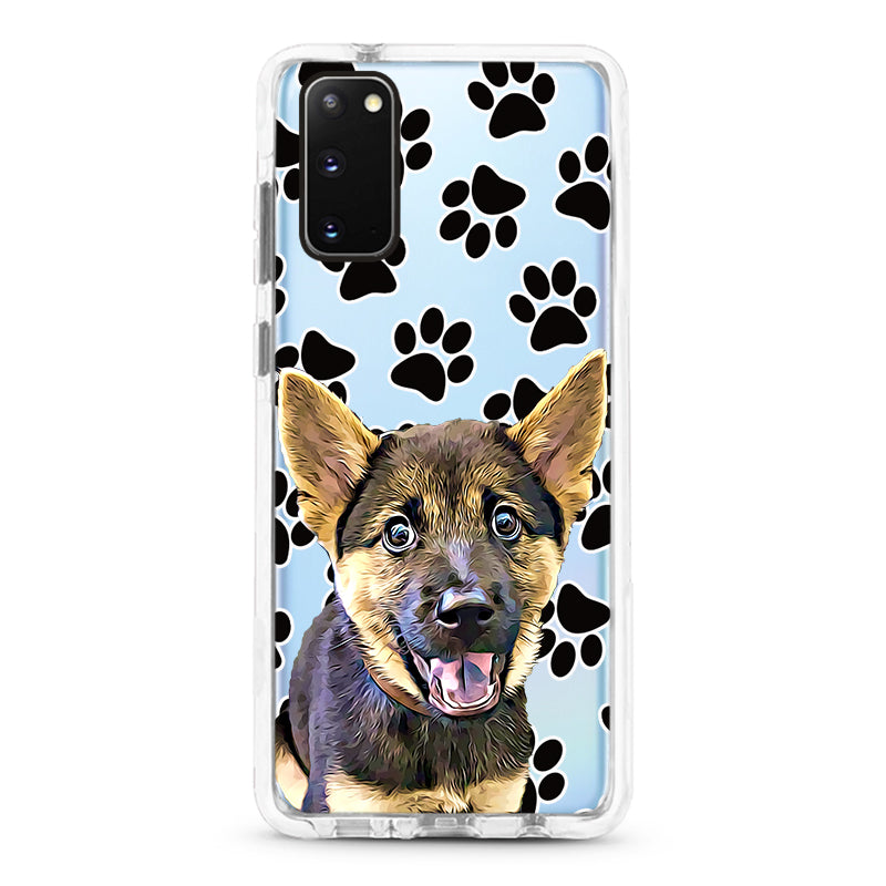 Samsung Ultra-Aseismic Case - Black Paws