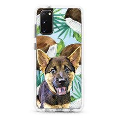 Samsung Ultra-Aseismic Case - Tropical Summer with Coconuts