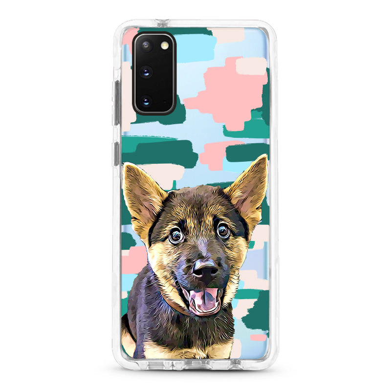 Samsung Ultra-Aseismic Case - Modern Painting 3