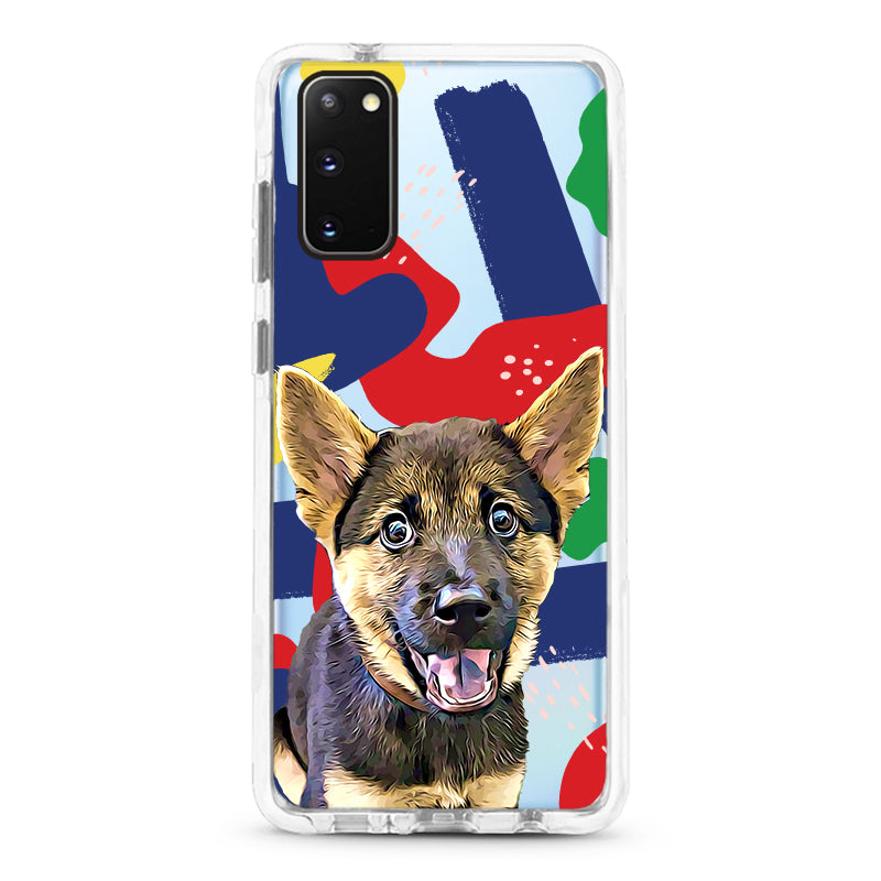 Samsung Ultra-Aseismic Case - Modern Painting