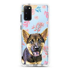 Samsung Ultra-Aseismic Case - Rosy Water Painting