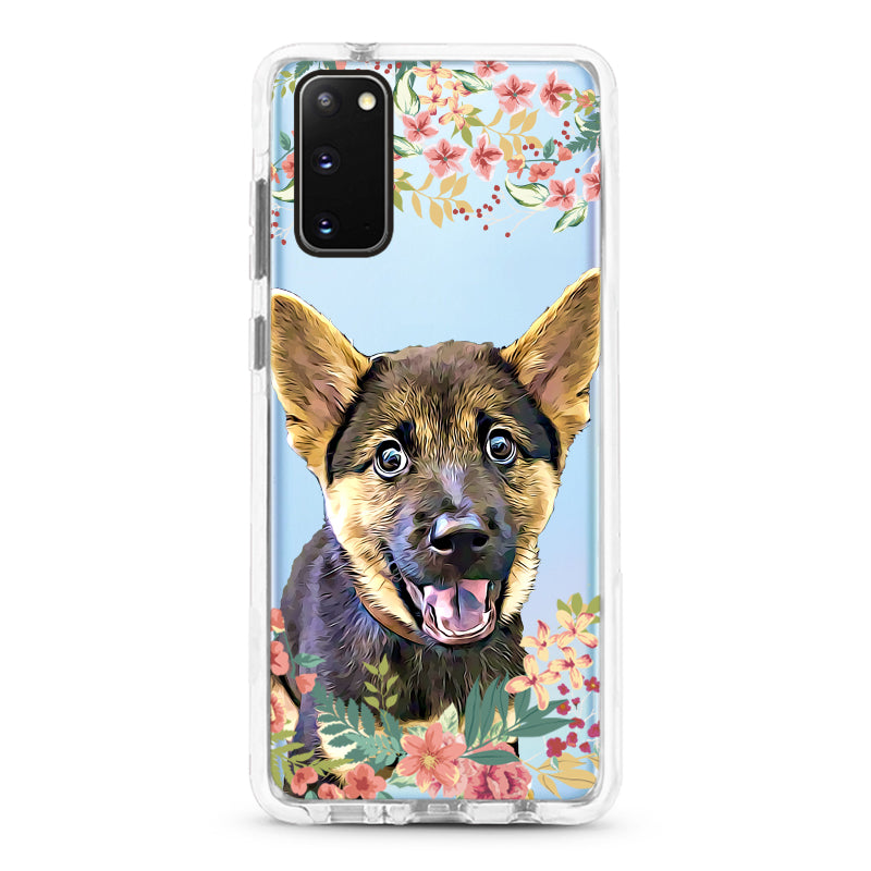 Samsung Ultra-Aseismic Case - Autumn Floral