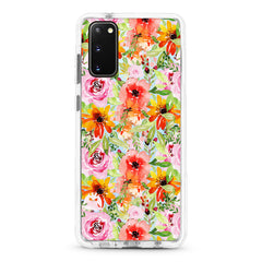 Samsung Ultra-Aseismic Case - Peony flower Overload