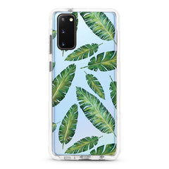 Samsung Ultra-Aseismic Case - Leaves Pattern Design