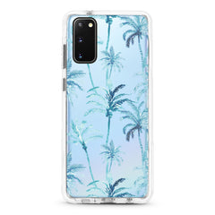 Samsung Ultra-Aseismic Case - Blue Hawaii Palm