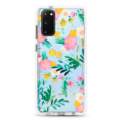 Samsung Ultra-Aseismic Case - Pink Yellow Floral