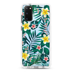 Samsung Ultra-Aseismic Case - Yellow Flower Tropical