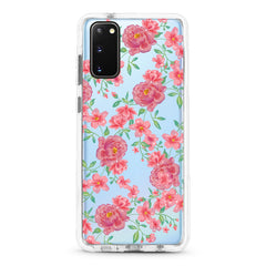 Samsung Ultra-Aseismic Case - Sweet Watercolor Flowers
