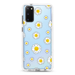 Samsung Ultra-Aseismic Case - White daisy