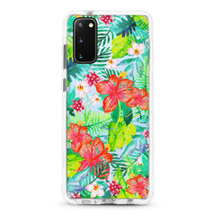 Samsung Ultra-Aseismic Case - Wild Tropical Forest in Water Color