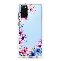 Samsung Ultra-Aseismic Case - Hand Paint Floral