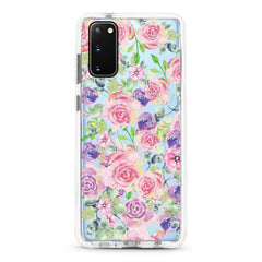 Samsung Ultra-Aseismic Case - Rose in Pink & Purple