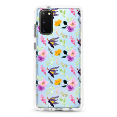 Samsung Ultra-Aseismic Case - Purple Botanicals