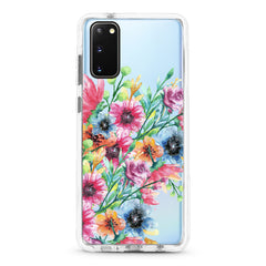 Samsung Ultra-Aseismic Case - Water Paint Floral