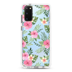 Samsung Ultra-Aseismic Case - Garden Flower in Pink