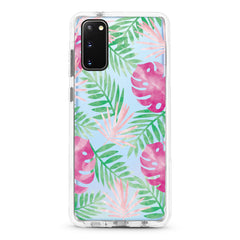 Samsung Ultra-Aseismic Case - Pink And Green Palm