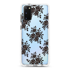 Samsung Ultra-Aseismic Case - Black Lace Floral
