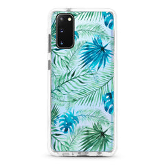 Samsung Ultra-Aseismic Case - Water Paint Palm Trees